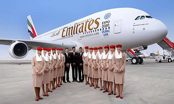 Sécurité sanitaire: Emirates prend en charge les dépenses Covid-19 de ses passagers