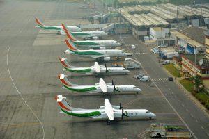 Les vols de Air Côte d'Ivoire