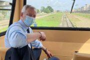 Côte d'Ivoire : Bruno Le Maire visite le chantier du métro d'Abidjan