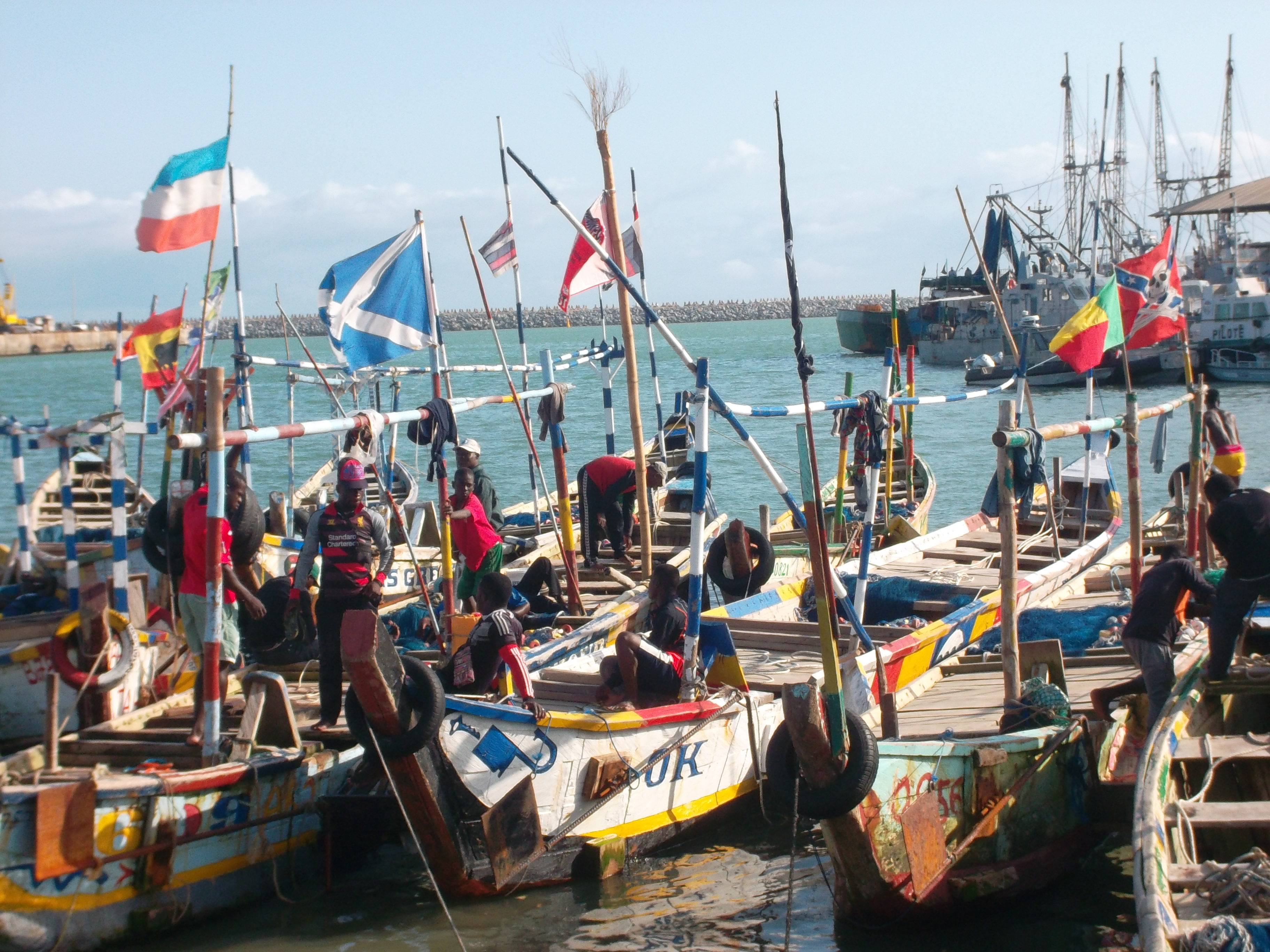 Port de pêche de Cotonou: Les usagers se plaignent de la rareté des poissons