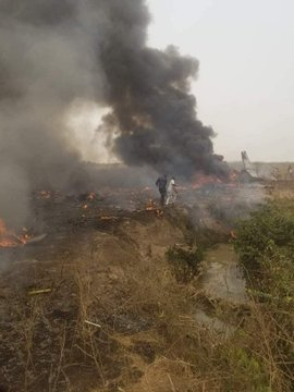 Nigeria Sept mort dans le crash d'un avion militaire