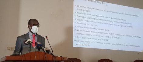 Bénin : Création du Centre national du théâtre : les explications de Jean-Michel Abimbola
