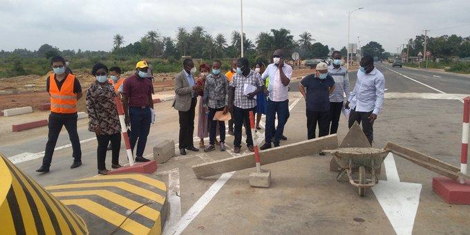 Togo : Réception provisoire de la route Lomé-Vogan-Anfoin