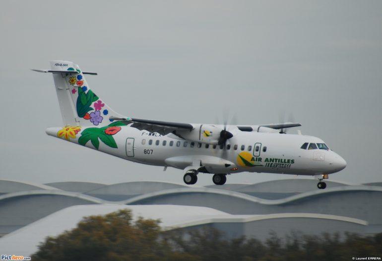 Air Antilles Express clouée au sol par la DGAC