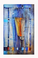 L'une des toiles de Basile Moussougan.