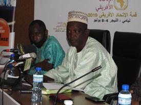 Représentant du ministre de la culture et du tourisme du Niger.