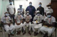 Bénin: Tchétchao reçoit les artistes lauréats du WAMMA 21