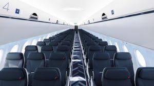 L'intérieur de Airbus A220-300
